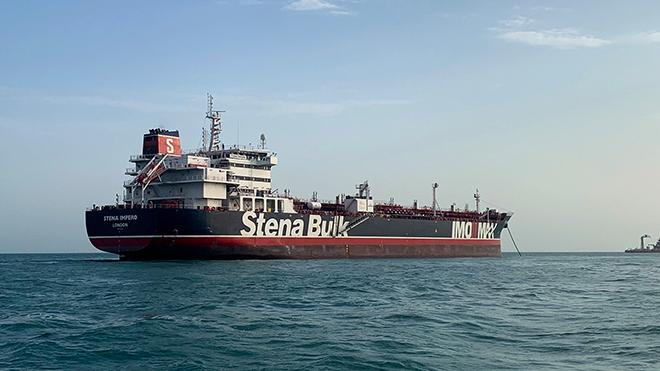 Các nhà ngoại giao Ấn Độ, Nga và Philippines được gặp đoàn thủy thủ trên tàu Stena Impero