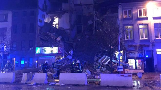 Nổ tại Bỉ phá hủy nhiều ngôi nhà