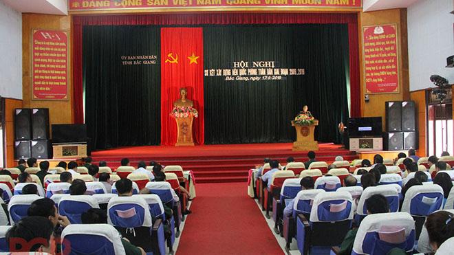 Tỉnh Bắc Giang xây dựng lực lượng vũ trang địa phương vững mạnh