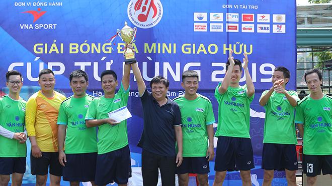 Báo Thể thao và Văn Hóa (TTXVN) vô địch Giải bóng đá mini giao hữu cúp Tứ hùng 2019