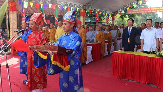 Tưởng niệm 577 năm ngày mất Anh hùng dân tộc, Danh nhân văn hóa thế giới Nguyễn Trãi