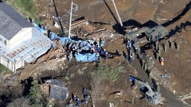 Siêu bão Hagibis: Nhật Bản huy động quân đội tham gia công tác tìm kiếm, cứu nạn