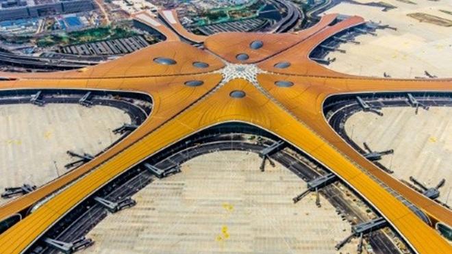 'Siêu' sân bay ở Bắc Kinh bắt đầu thực hiện các chuyến bay quốc tế từ ngày 27/10