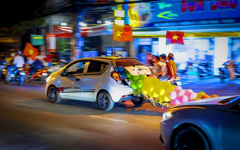U22 Việt Nam giành HCV SEA Games, U22 Việt Nam vô địch SEA Games 2019, U22 Việt Nam 3-0 U22 Indonesia , SEA Games 2019, SEA Games 30, CĐV Việt Nam ăn mừng, người hâm mộ