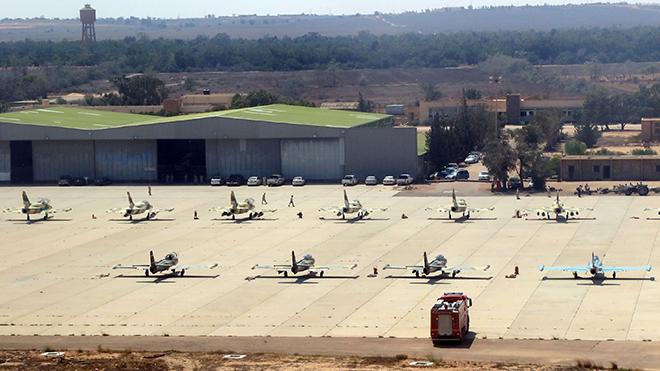 Libya: Quân đội miền Đông tấn công căn cứ không quân Misurata