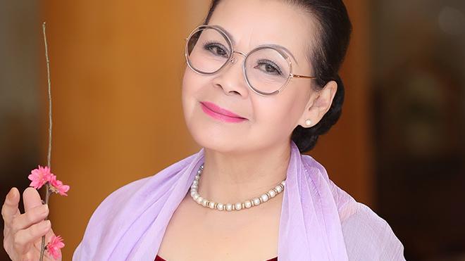 Danh ca Khánh Ly gửi lời chúc tốt đẹp nhất tới mọi người, mọi nhà dịp năm mới Canh Tý 2020