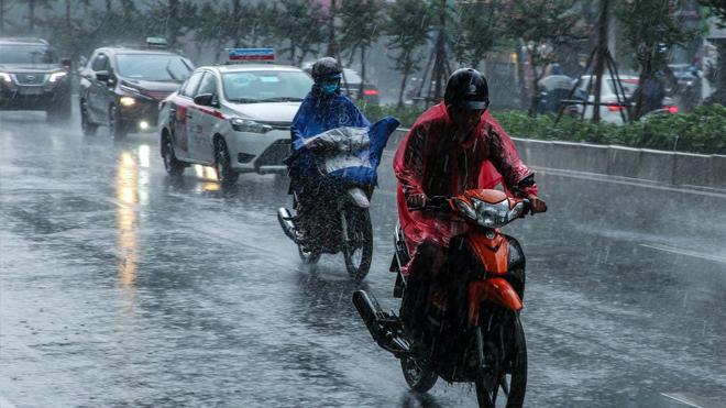 Dự báo thời tiết ngày mai cả nước có mưa dông rải rác