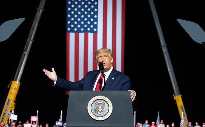 Tổng thống Donald Trump cảm nhận rất rõ về cơ hội chiến thắng