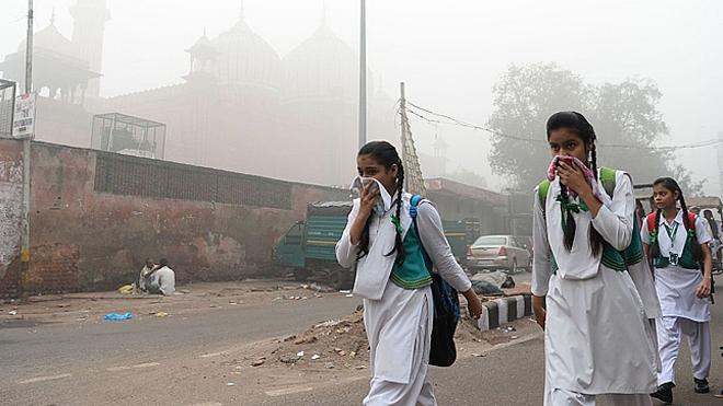 Số ca tử vong do ô nhiễm không khí tại Ấn Độ cao ở mức báo động