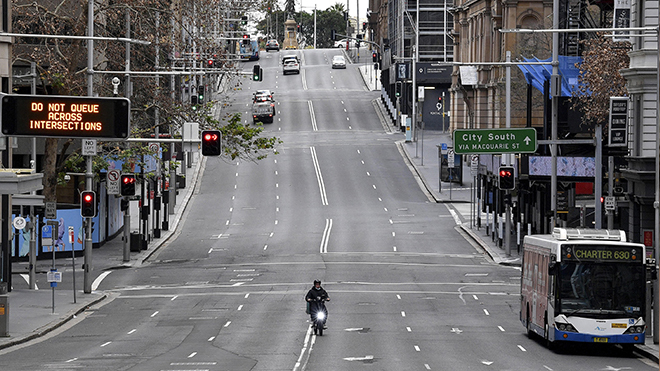 Dịch Covid-19: Australia phong tỏa gần một nửa dân số