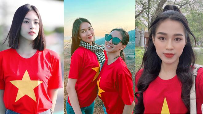 Hoa hậu Tiểu Vy, Lương Thuỳ Linh dự đoán tỉ số trận Đội tuyển Việt Nam đối đầu UAE