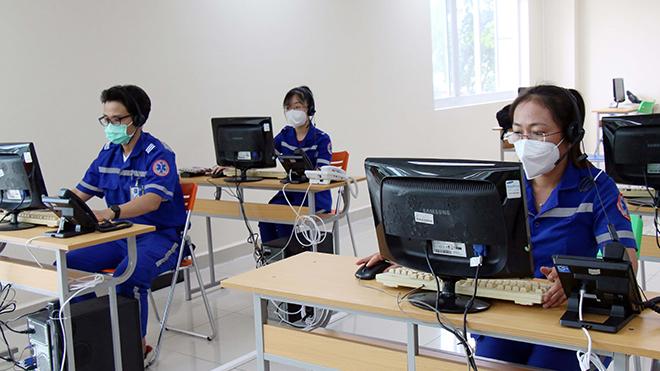 TP. HCM nâng cấp Tổng đài 115 phục vụ điều phối cấp cứu bệnh nhân Covid-19