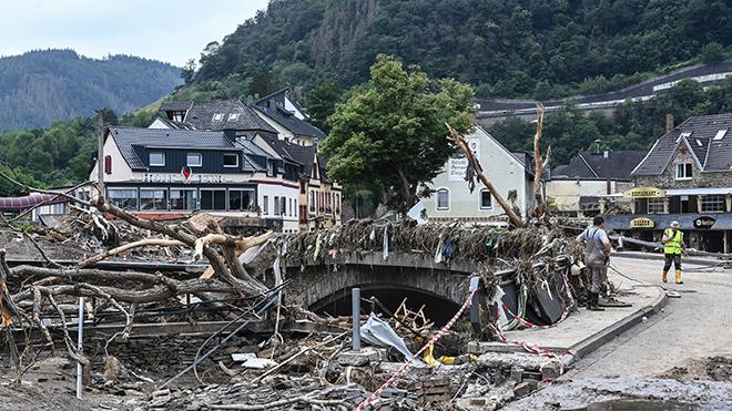 Đức lập quỹ khắc phục hậu quả lũ lụt trị giá 30 tỷ Euro