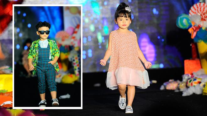 Ngắm 150 nhóc tỳ Hà thành tự tin sải bước trên sàn catwalk