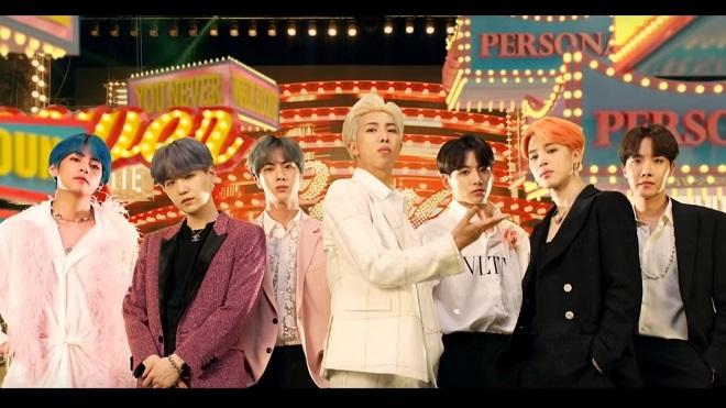 BTS, nhóm nhạc của năm, giải thưởng mới của BTS