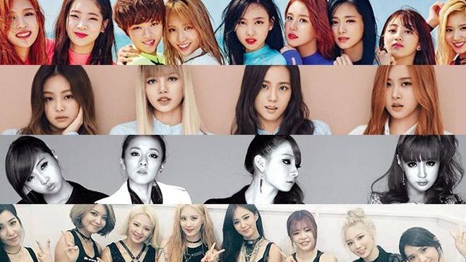 Top 10 nhóm nhạc nữ Kpop 2019: Blackpink nổi đình đám vẫn không thể vượt Twice