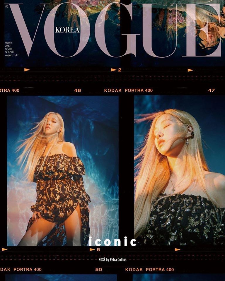 Blackpink, Vogue Hàn Quốc, Jisoo, Jennie, Rosé, Lisa, Dior, YSL, Chanel, Bulgari
