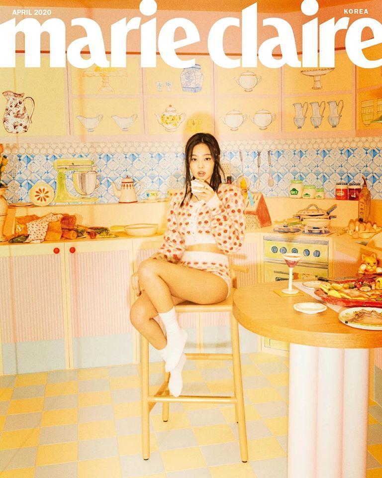 Blackpink, Jennie, nàng thơ của Chanel, Chanel sống, tạp chí thời trang
