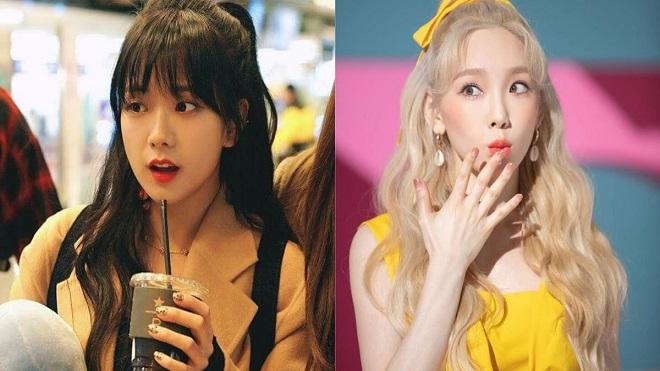 10 sao nữ Kpop siêu xinh với kiểu tóc buộc nửa đầu: Jisoo Blackpink, IU, Taeyeon…