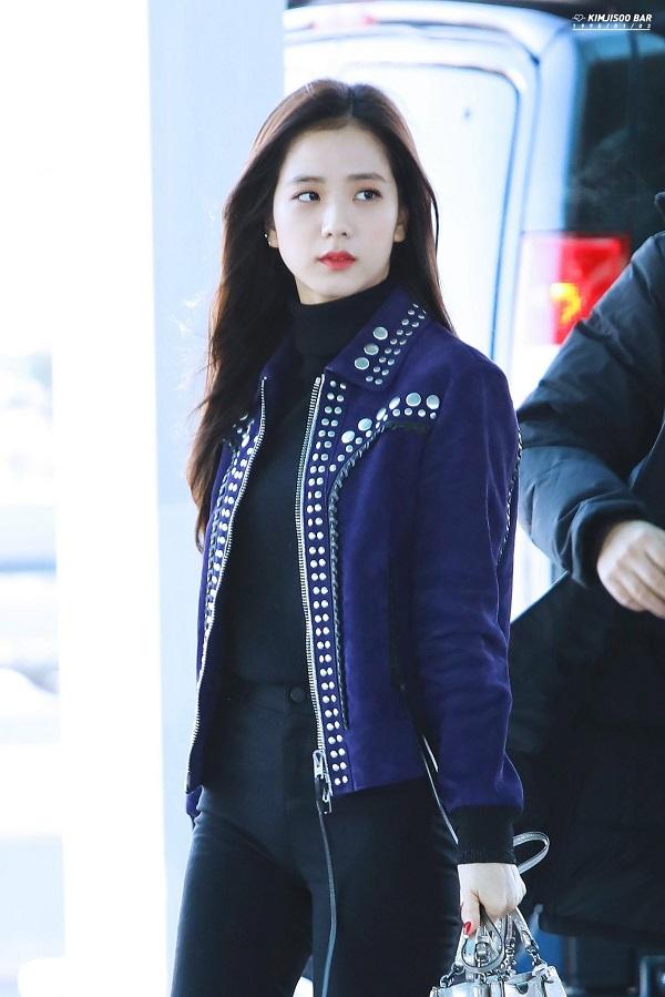 Blackpink, jisoo blackpink, thời trang blackpink, jisoo style, thời trang sân bay sao kpop