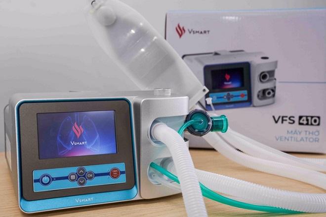 Covid-19, máy thở, tập đoàn VinGroup