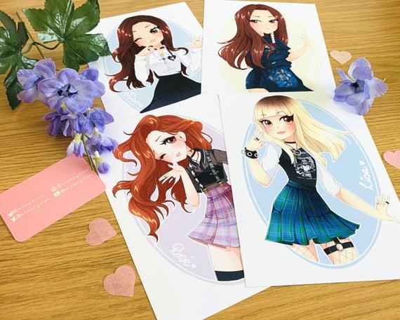 Blackpink, Jennie, Jisoo, Lisa, Rosé, blackpink fanmade