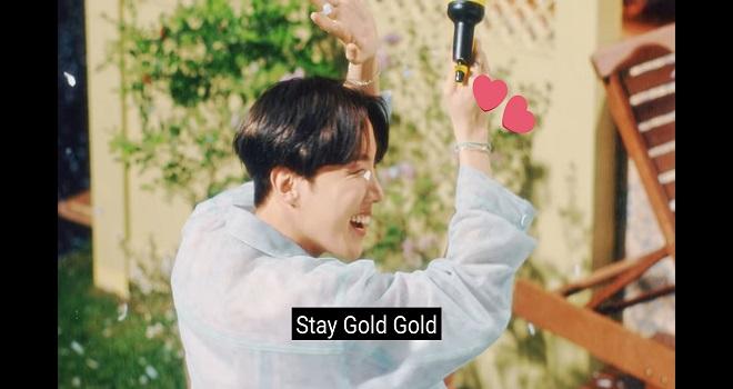 BTS, Stay Gold BTS, RM, Jin, Jimin, J-Hope, V, Jungkook, Suga, BTS mv mới, bts map 7, mv bts