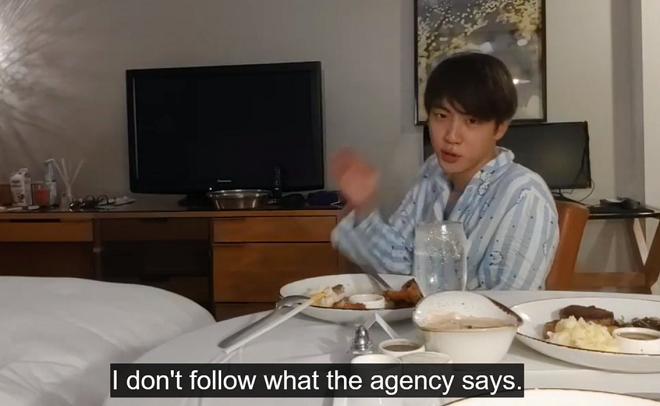 BTS, Jin, Jin BTS, anh cả BTS, chủ tịch BigHit, bts 2020, kẻ thù của jin, jin 2020, jin funny, bts gif, bts video, bang si hyuk