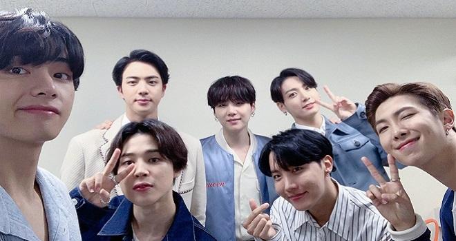 BTS, BTS trở lại, Jimin, RM Suga, Jin, Jungkook, BTS 2020, BTS HYYH, BTS bất ngờ bị lộ màu tóc mới, bts Flower Smeraldo