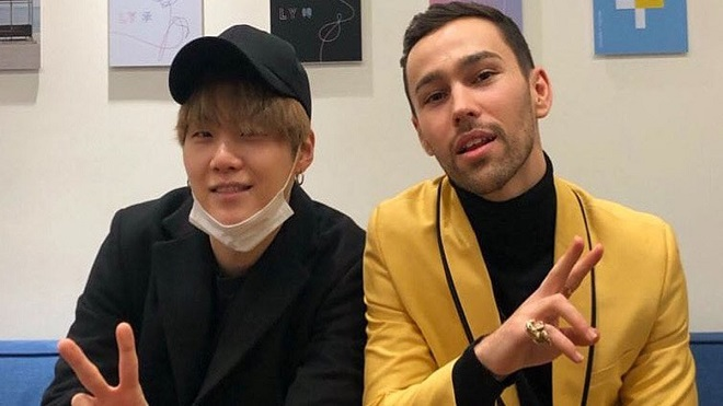 Suga BTS rục rịch 'đá lẻ' ra sản phẩm mới kết hợp với ca sĩ quốc tế