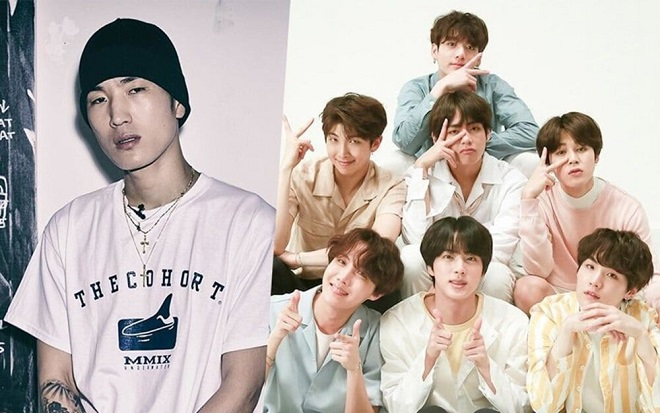 BTS, RM, Suga, Twice, BTS bi ném đá, BTS bị chê bai tài năng, RM bị đá xoáy, ARMY, BTS rap, BTS video, Twice và BTS, BTS Twice