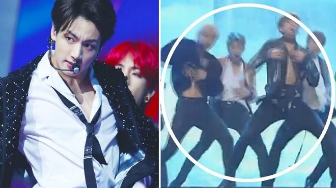 6 lần BTS thể hiện sự chuyên nghiệp trên sân khấu bất chấp sự cố trang phục
