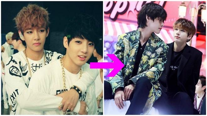 Hành động chứng minh V BTS mãi mãi coi Jungkook là maknae đáng yêu