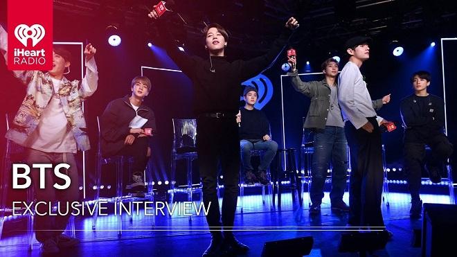 BTS, BTS phỏng vấn, RM, Jungkook, Jimin, V, BTS 2020, Jungkook gif, BTS video, BTS iHeartRadio, BTS hài hước, ảnh BTS, bts Dionysus, vũ đạo khó nhất của BTS