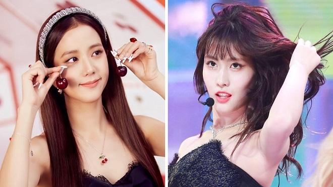 Những nữ thần K-pop 'đốn tim' fan với tóc đen: Jisoo Blackpink, Momo Twice...