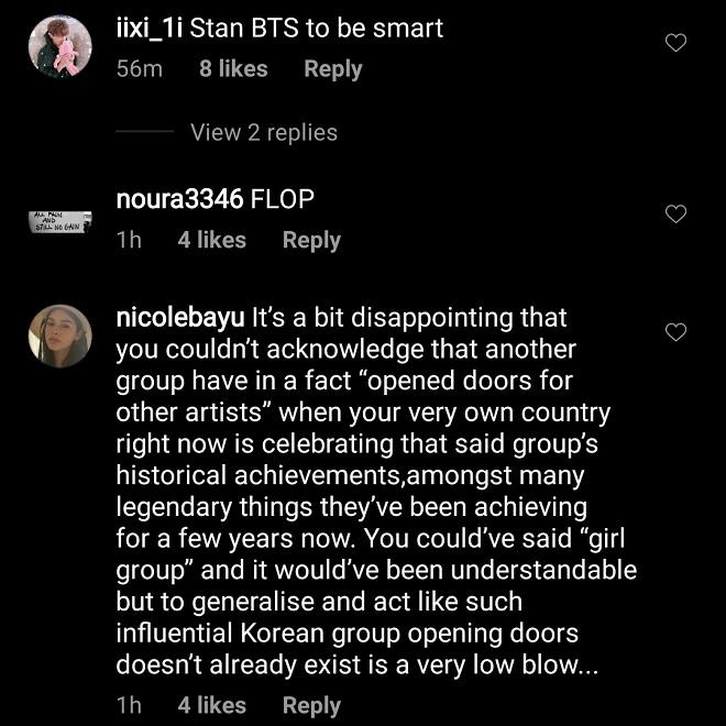 BTS, Blackpink, Jennie, Jisoo, Lisa, Rosé, BTS và Blackpink, Jennie gây tranh cãi, Jennie hạ bệ BTS, BTS 2020, blackpink phỏng vấn, blackpink 2020, jennie instagram