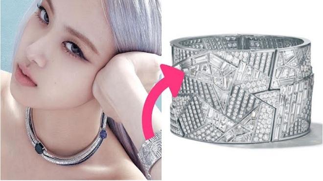 Tưởng làm mẫu 'sương sương', Rosé Blackpink mang cả vòng cổ tiền tỷ lên bìa tạp chí