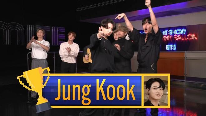 BTS, Jungkook, Suga, Jimin, RM, BTS the tonight show, jungkook tài năng, bts jungkook, bts video, ảnh jungkook, bts chơi game, bts show, tuần lễ BTS, BTS 2020, BTS funny