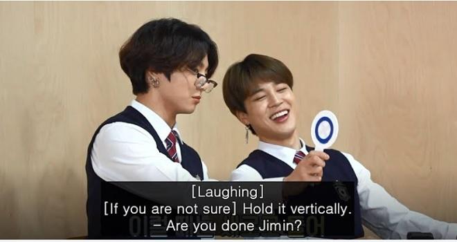 BTS, Jungkook, Jin, RM, J-Hope, Suga, Run BTS, BTS video, BTS trò chơi, BTS gian lận, BTS hài hước, Jungkook và RM, Jungkook gian lận, thiên tài RM, Jin thầy giấo, Jimin