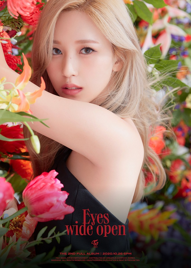 Twice, Twice album mới, Mina, Twice Eyes Wild Open, Twice teaser, nhan sắc nữ thần Nhật Bản Mina Twice, ảnh mina Twice, Twice video, Twice Mina