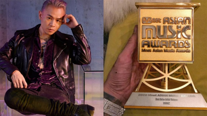 MAMA 2020, Binz, Amee, Giải thưởng MAMA 2020, ảnh binz, bigcity boi, nghệ sĩ Châu á, binz amee, ảnh amee
