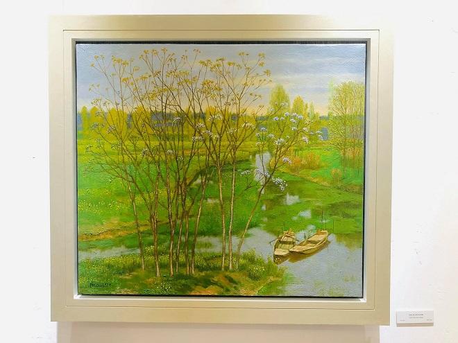 Triển lãm, Đại học Mỹ thuật Việt Nam, triển lãm nghệ thuật, mỹ thuật, triển lãm ranh, 95 năm thành lập đại học mỹ thuật việt nam
