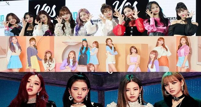Blackpink, IZ*ONE, Twice, nhóm nữ Kpop, doanh số album 2020, Jennie, Jisoo, Lisa, rosé, Mina, Sana, Tzuyu, Nayeon, Momo, Jihyo, Dahyun, Sakura, Wonyoung, yujin