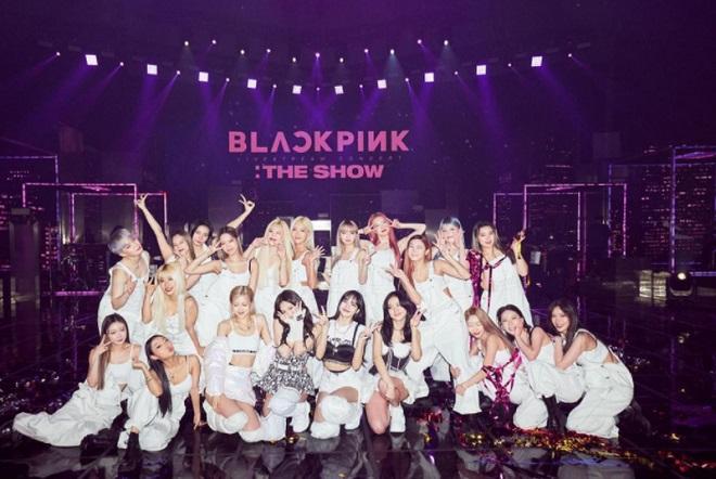 Blackpink, Blackpink THE SHOW, Jennie, Jisoo, Rosé, Lisa, Blackpink 2021, Blackpink concert, Blackpink doanh thu, Blackpink kỷ lục, Blackpink ảnh đẹp, Rosé Gone