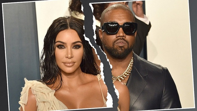 Rapper Kanye West và Kim Kardashian chính thức đệ đơn ly hôn