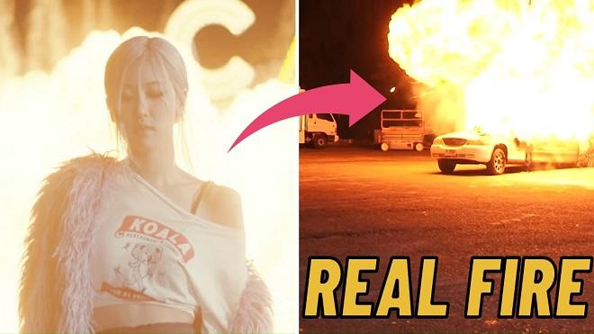 Rosé Blackpink tự đóng 5 cảnh cực khó trong MV solo khiến fan 'hết hồn'