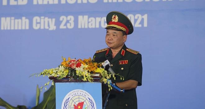 Bệnh viện dã chiến cấp 2 số 3, Lễ xuất quân, bệnh viện, tin tức Việt Nam
