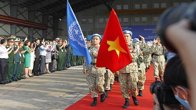 Cán bộ, chiến sĩ Việt Nam lên đường làm nhiệm vụ giữ gìn hoà bình ở Nam Sudan