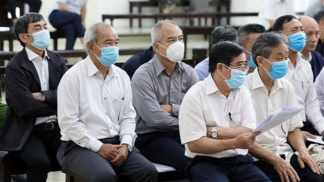 Đại án gang thép Thái Nguyên, Tổng Giám đốc TISCO, Trần Trọng Mừng, Dàn cựu lãnh đạo TISCO lĩnh án tù