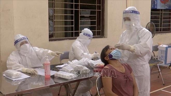 Bắc Ninh xet nghiệm Covid-19 lần thứ 2 cho toàn bộ người dân tại tâm dịch Mão Điền